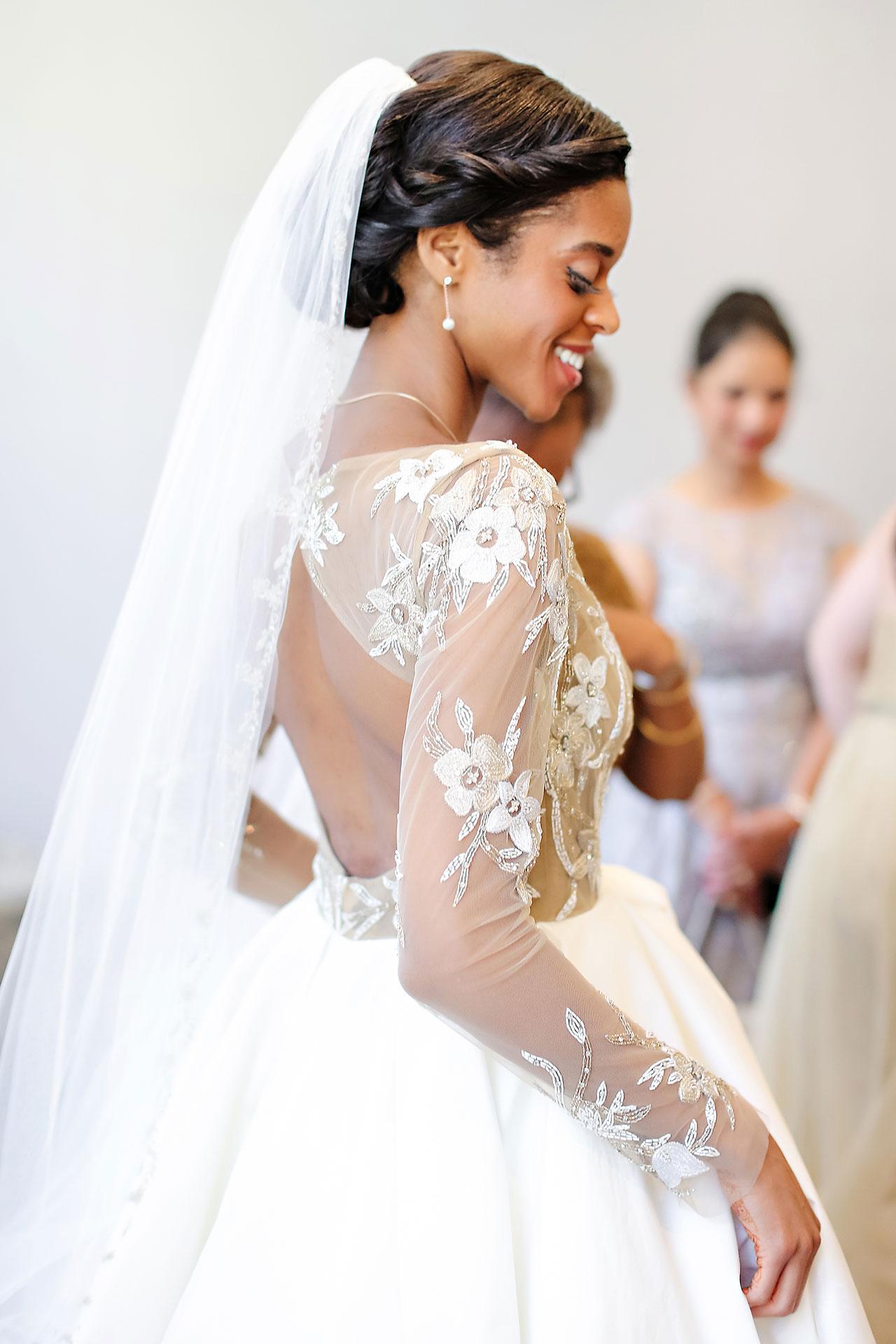Joie Nikhil Indianapolis Christian Wedding 058