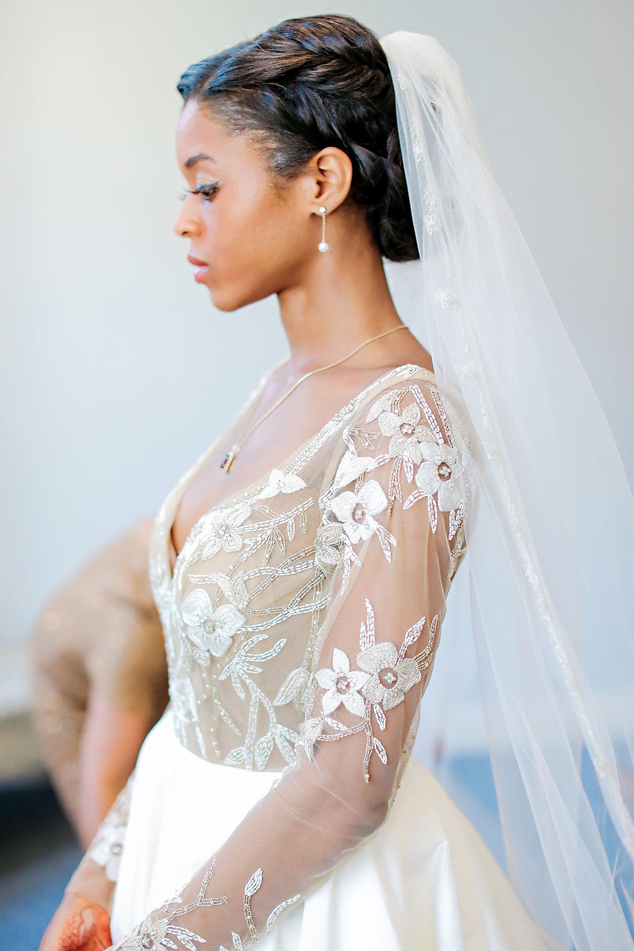 Joie Nikhil Indianapolis Christian Wedding 055