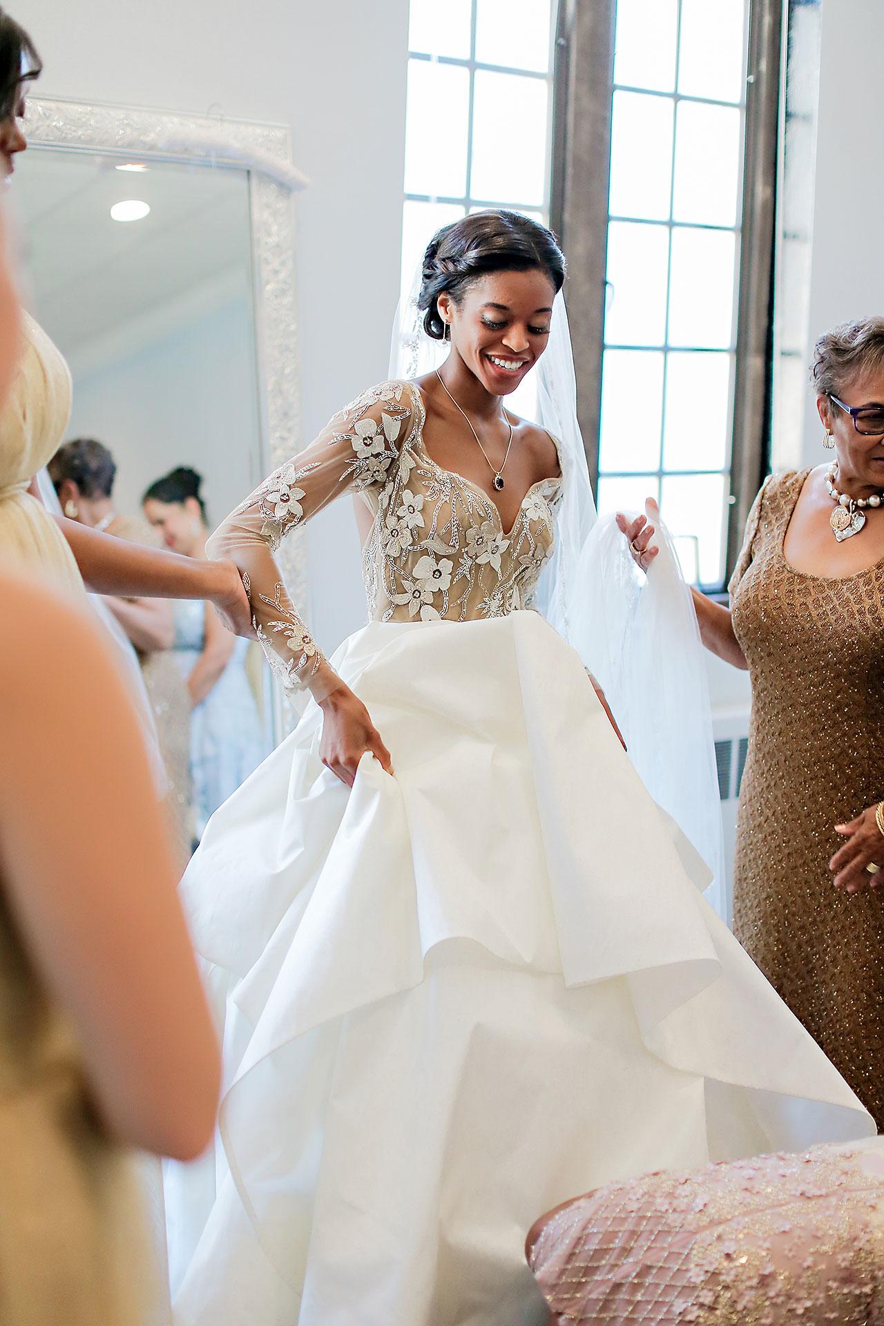 Joie Nikhil Indianapolis Christian Wedding 056
