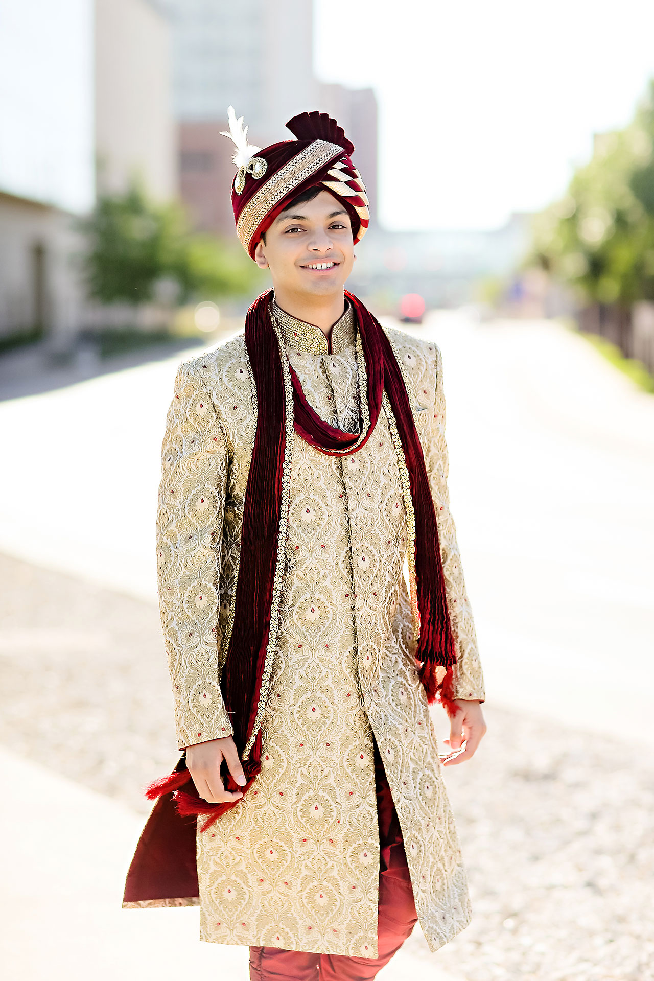 Joie Nikhil JW Marriott Indian Wedding 107