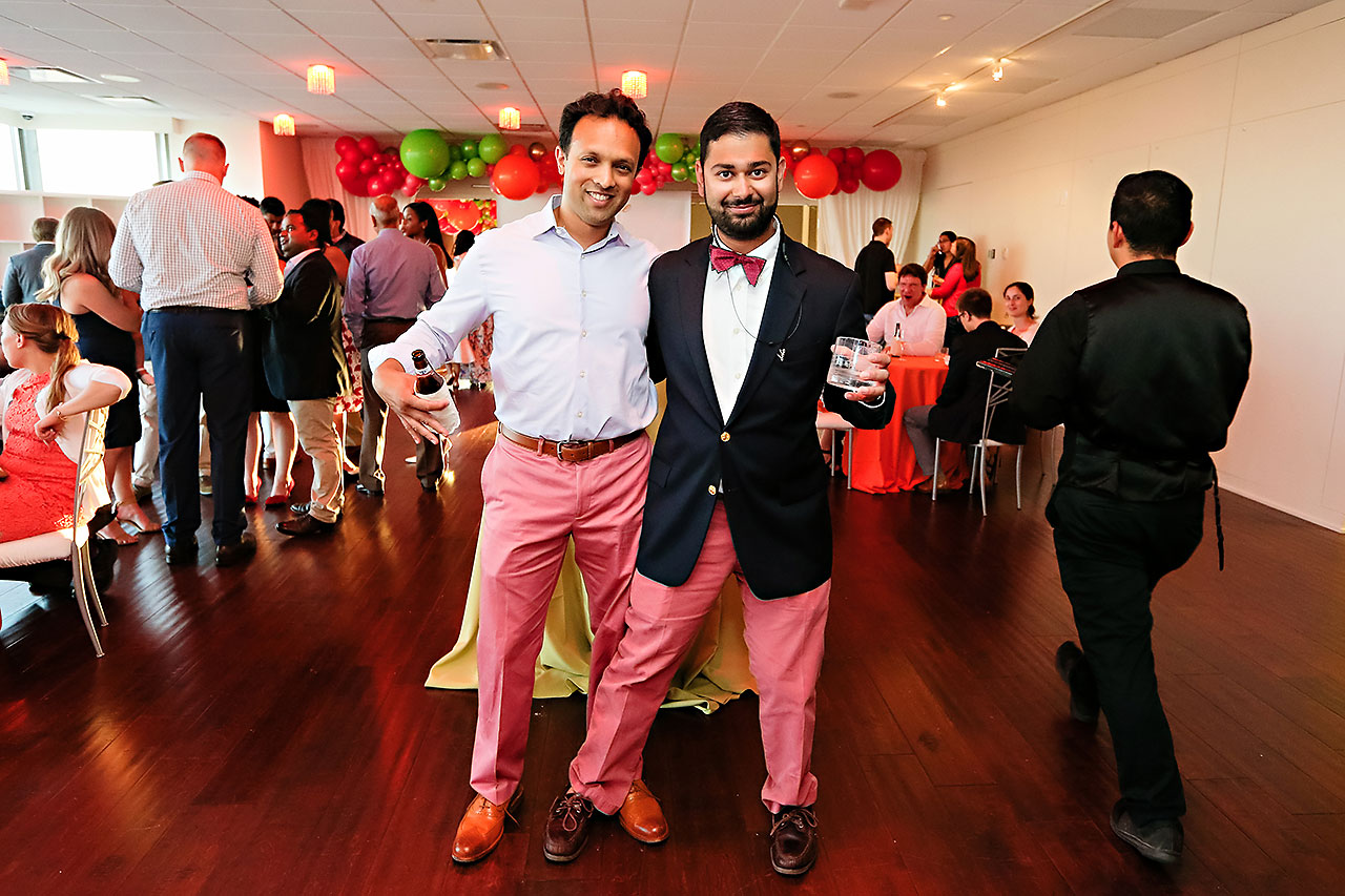 Joie Nikhil DAmore Indianapolis Welcome Party 230