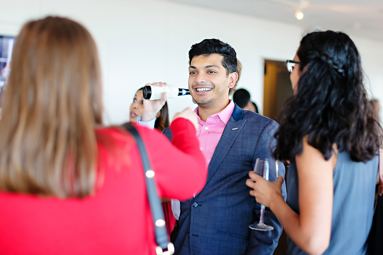 Joie Nikhil DAmore Indianapolis Welcome Party 127