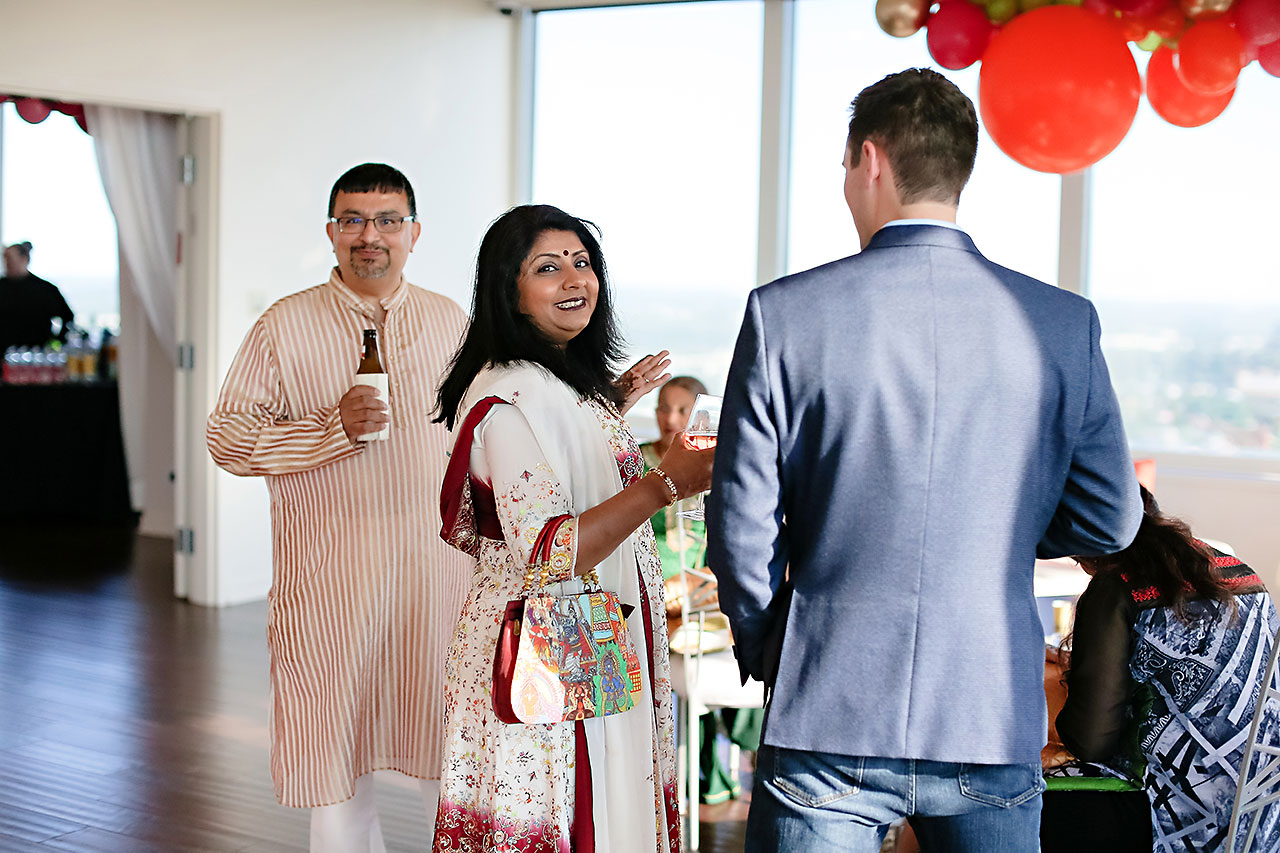 Joie Nikhil DAmore Indianapolis Welcome Party 092
