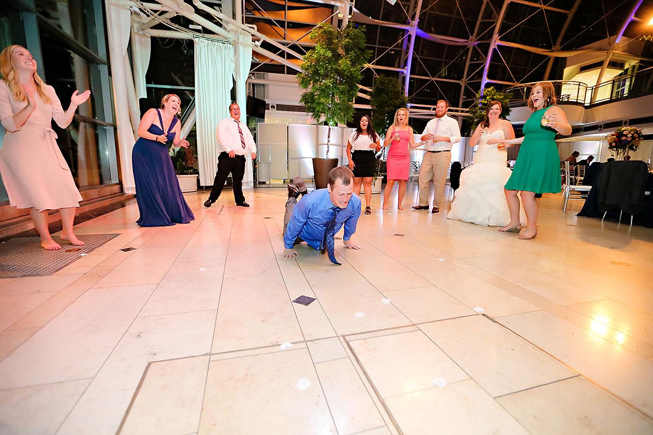 Erin John Artsgarden Indianapolis Wedding 408