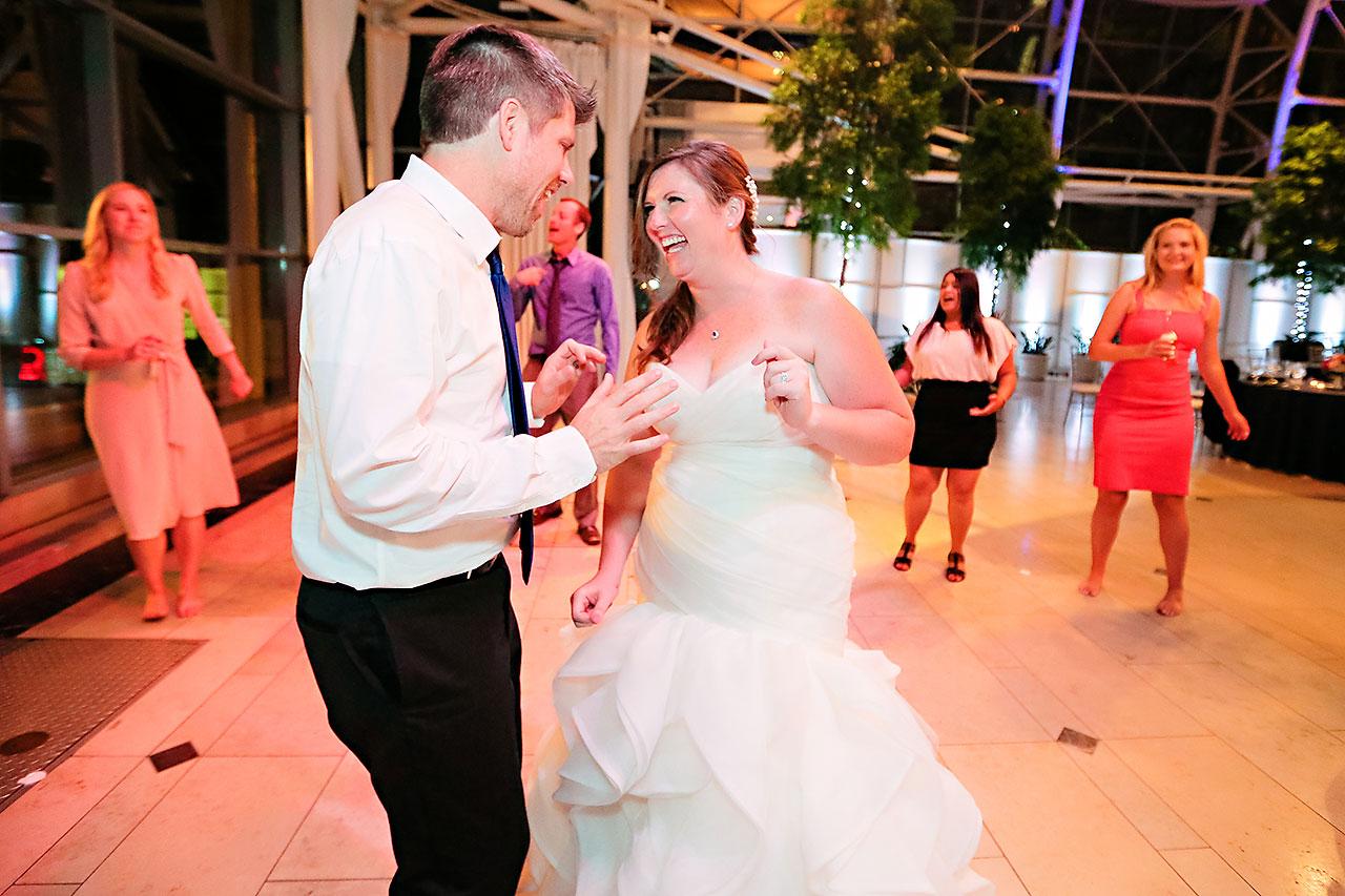 Erin John Artsgarden Indianapolis Wedding 407