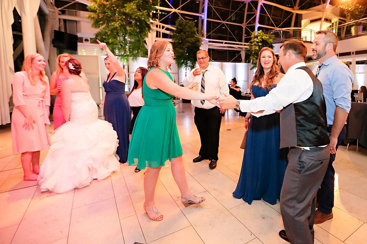 Erin John Artsgarden Indianapolis Wedding 403