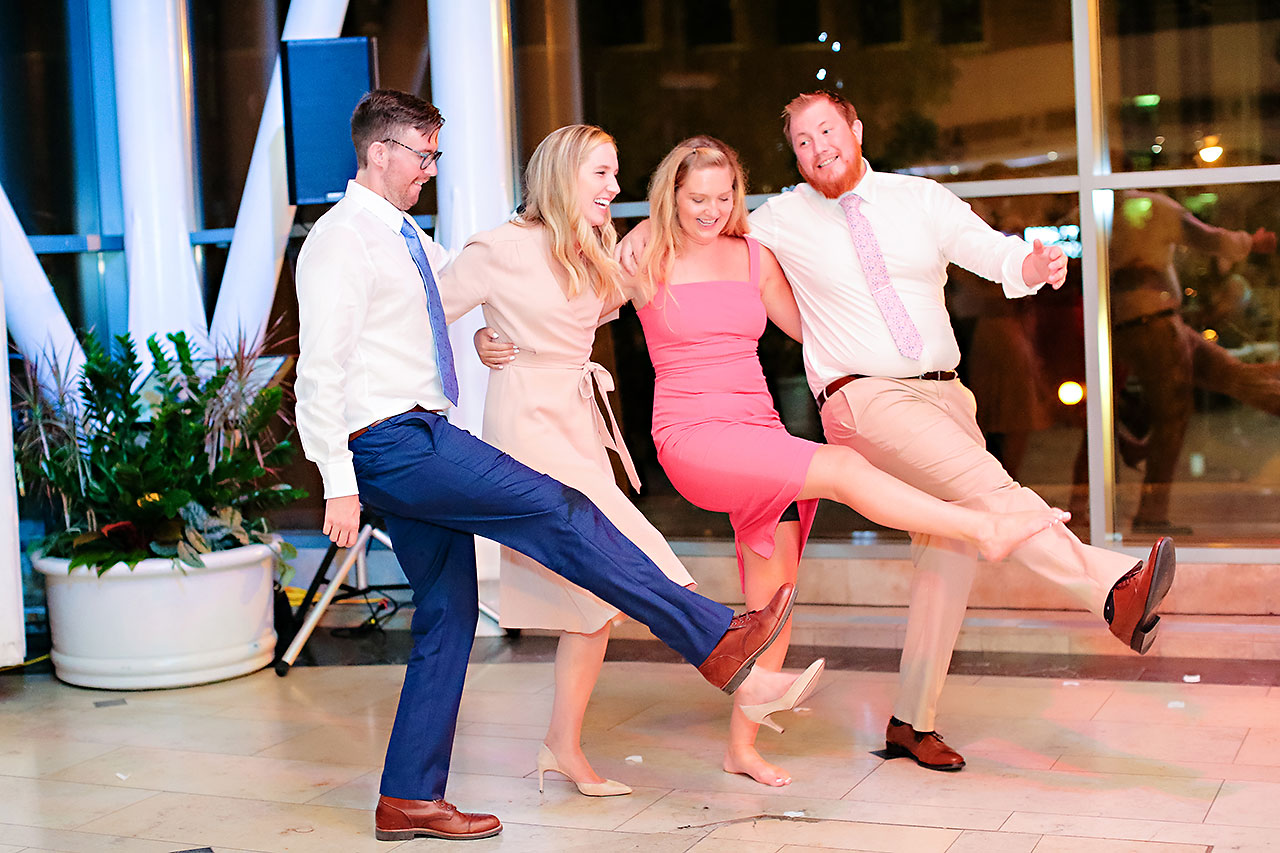 Erin John Artsgarden Indianapolis Wedding 397