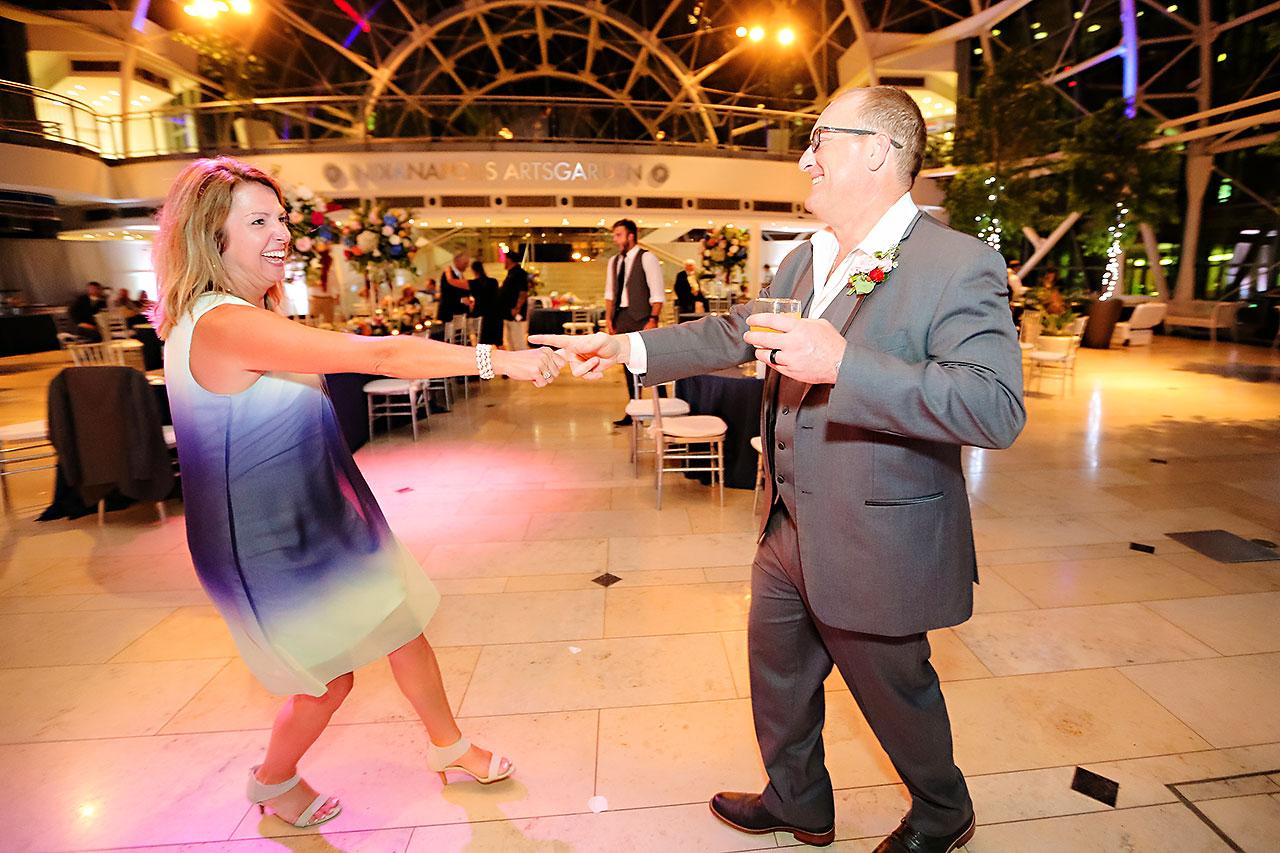 Erin John Artsgarden Indianapolis Wedding 391