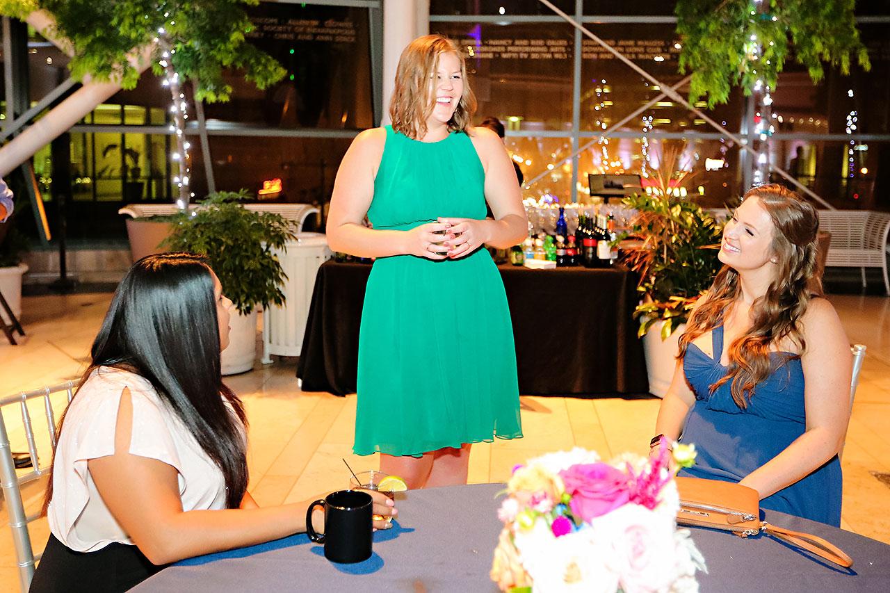 Erin John Artsgarden Indianapolis Wedding 392