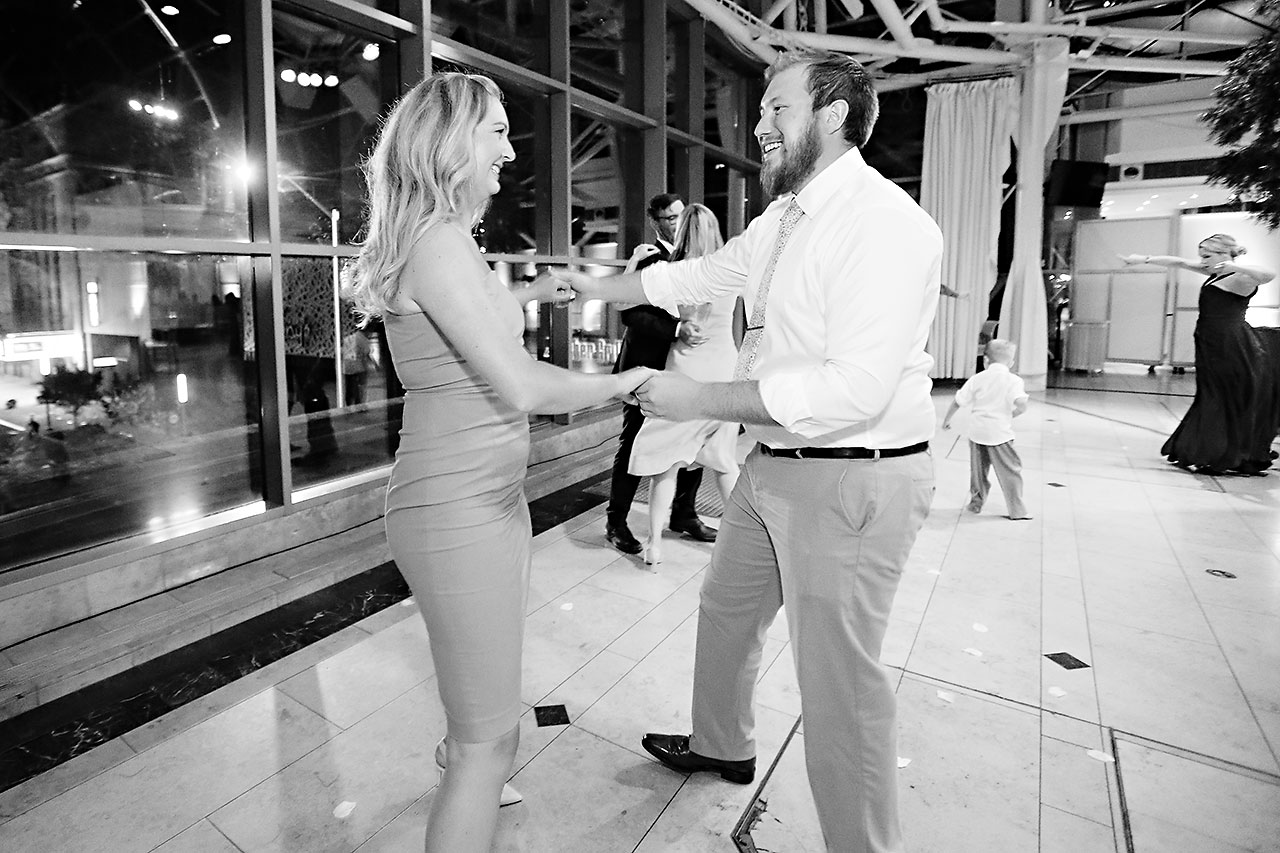 Erin John Artsgarden Indianapolis Wedding 389