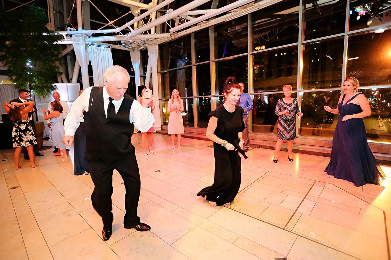 Erin John Artsgarden Indianapolis Wedding 384