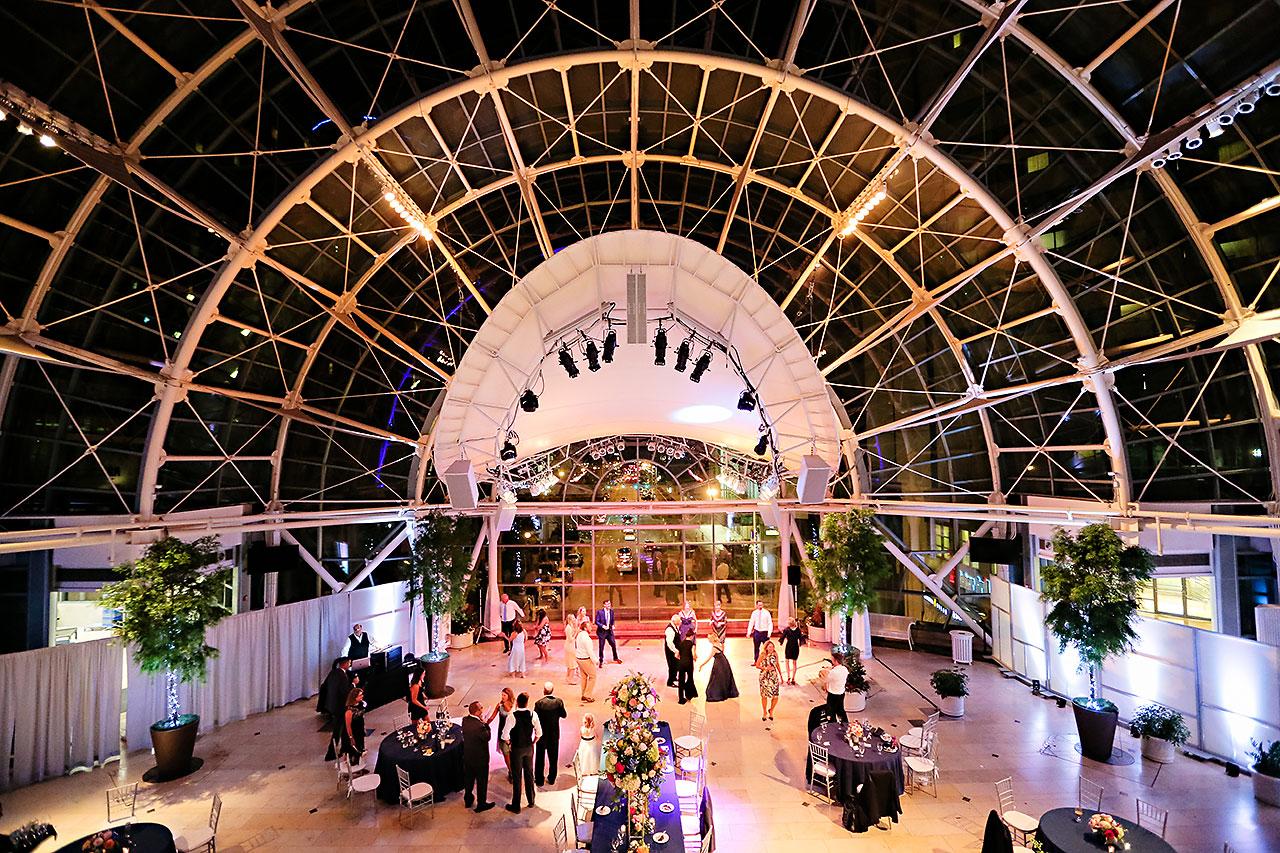 Erin John Artsgarden Indianapolis Wedding 381