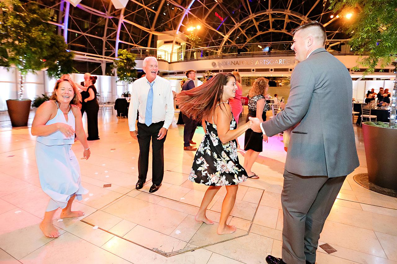 Erin John Artsgarden Indianapolis Wedding 378