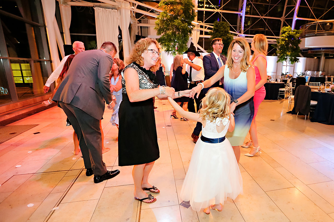 Erin John Artsgarden Indianapolis Wedding 376