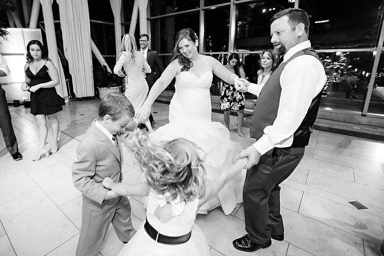 Erin John Artsgarden Indianapolis Wedding 374