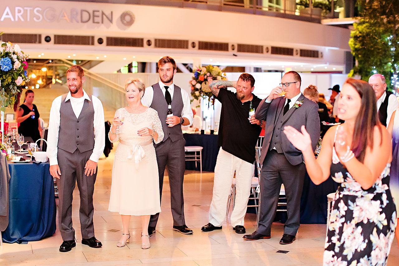 Erin John Artsgarden Indianapolis Wedding 375