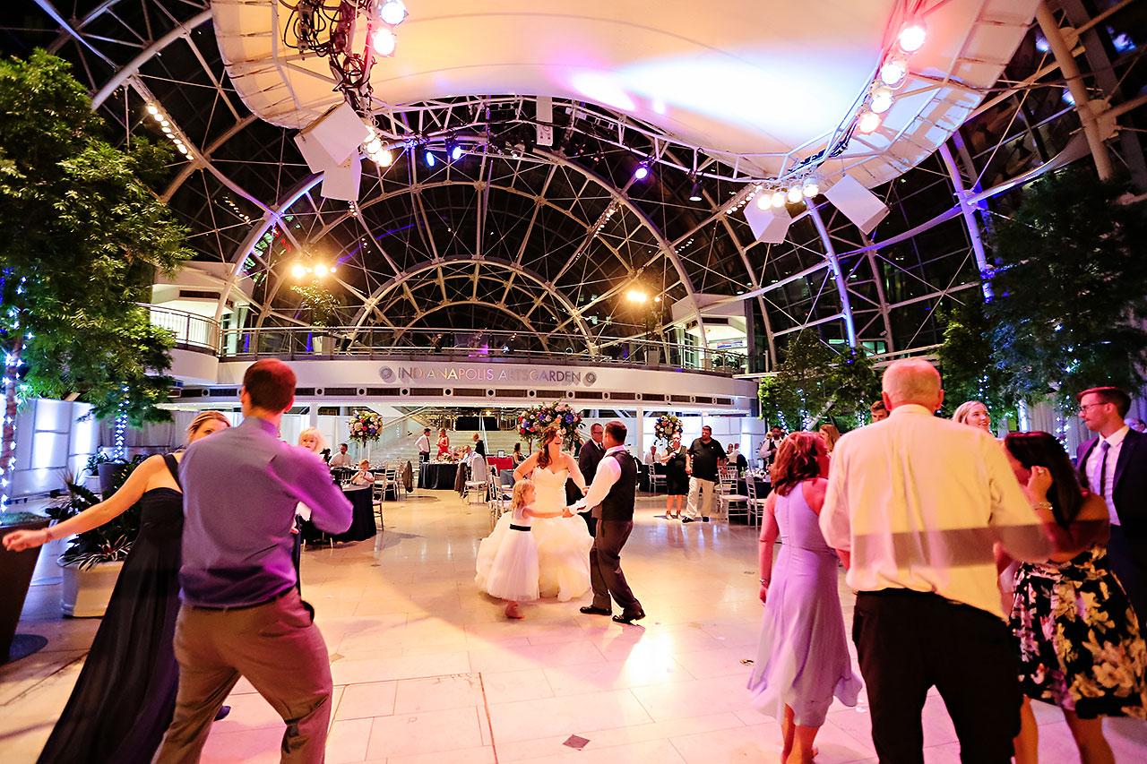 Erin John Artsgarden Indianapolis Wedding 373