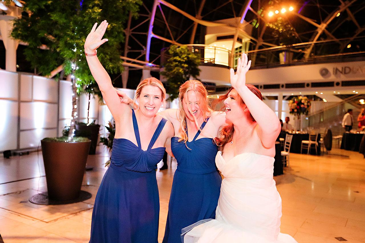 Erin John Artsgarden Indianapolis Wedding 367