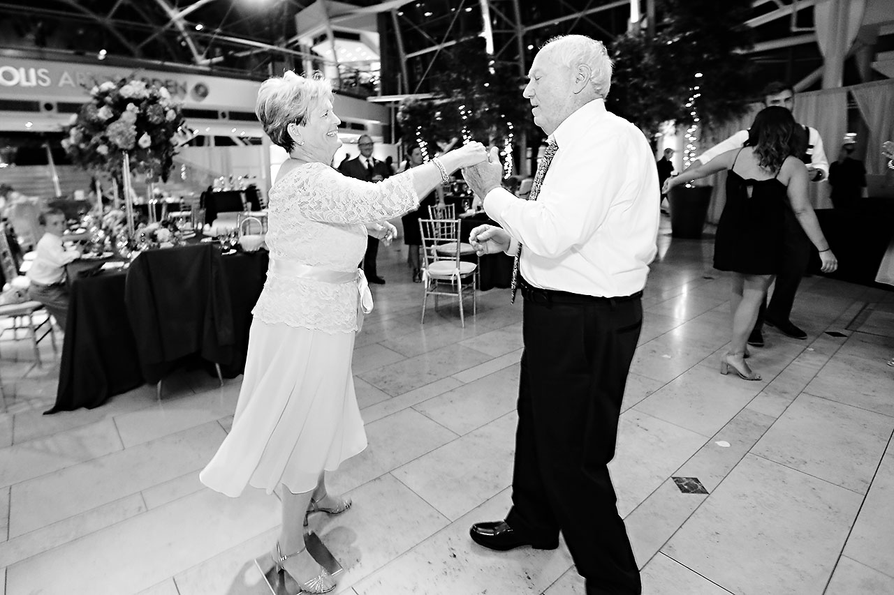 Erin John Artsgarden Indianapolis Wedding 362