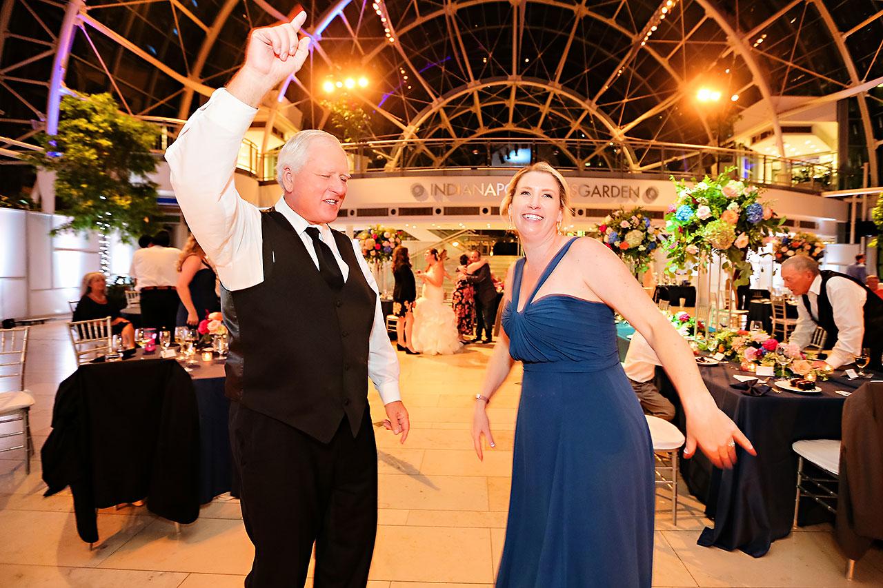 Erin John Artsgarden Indianapolis Wedding 363