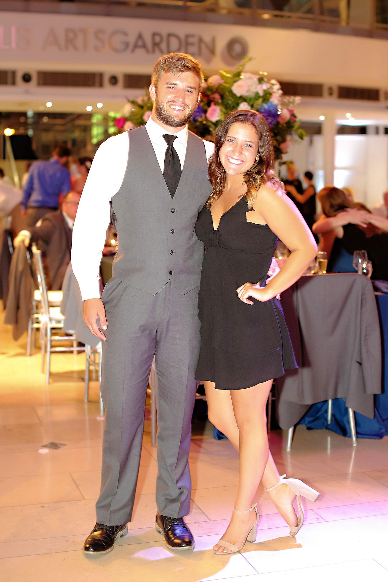 Erin John Artsgarden Indianapolis Wedding 350