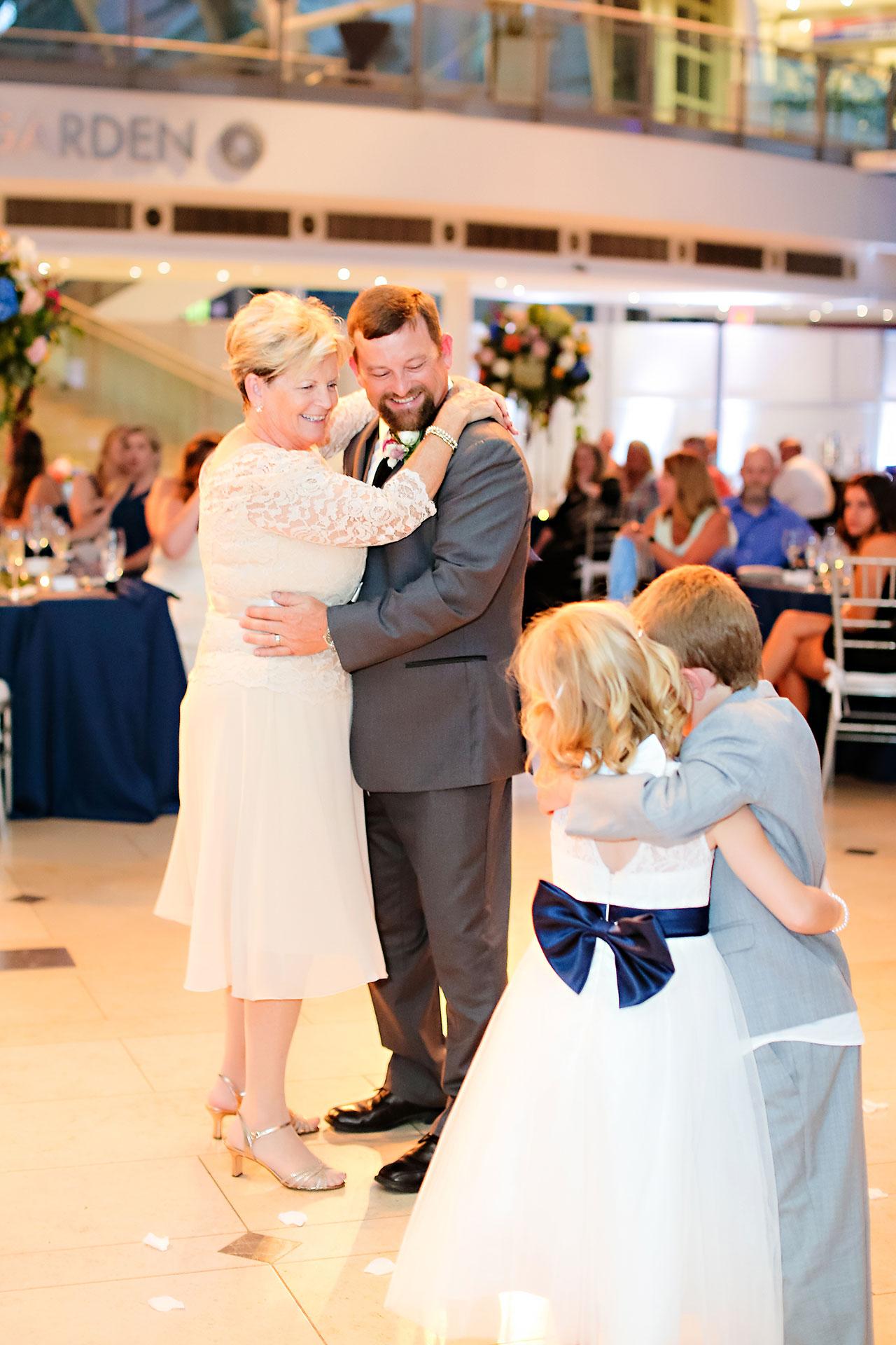 Erin John Artsgarden Indianapolis Wedding 346