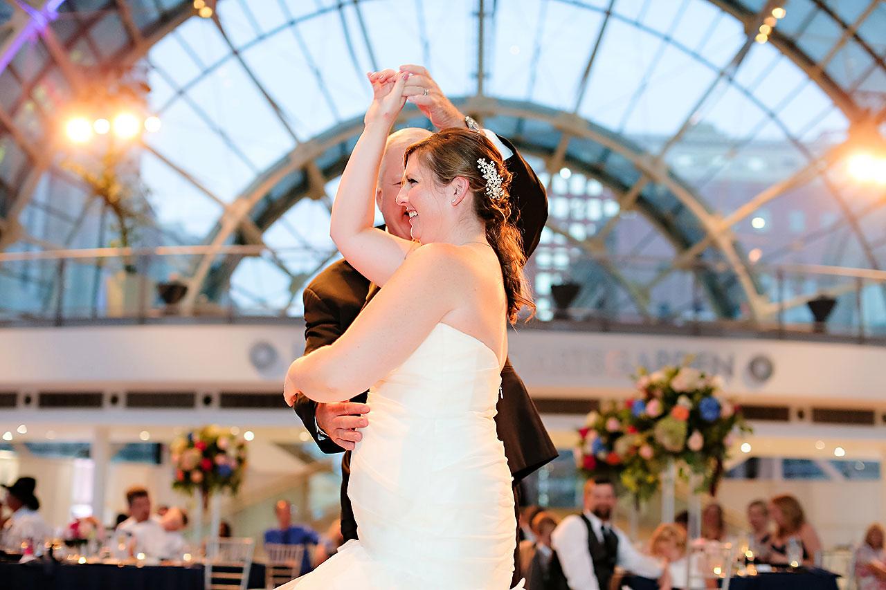 Erin John Artsgarden Indianapolis Wedding 336