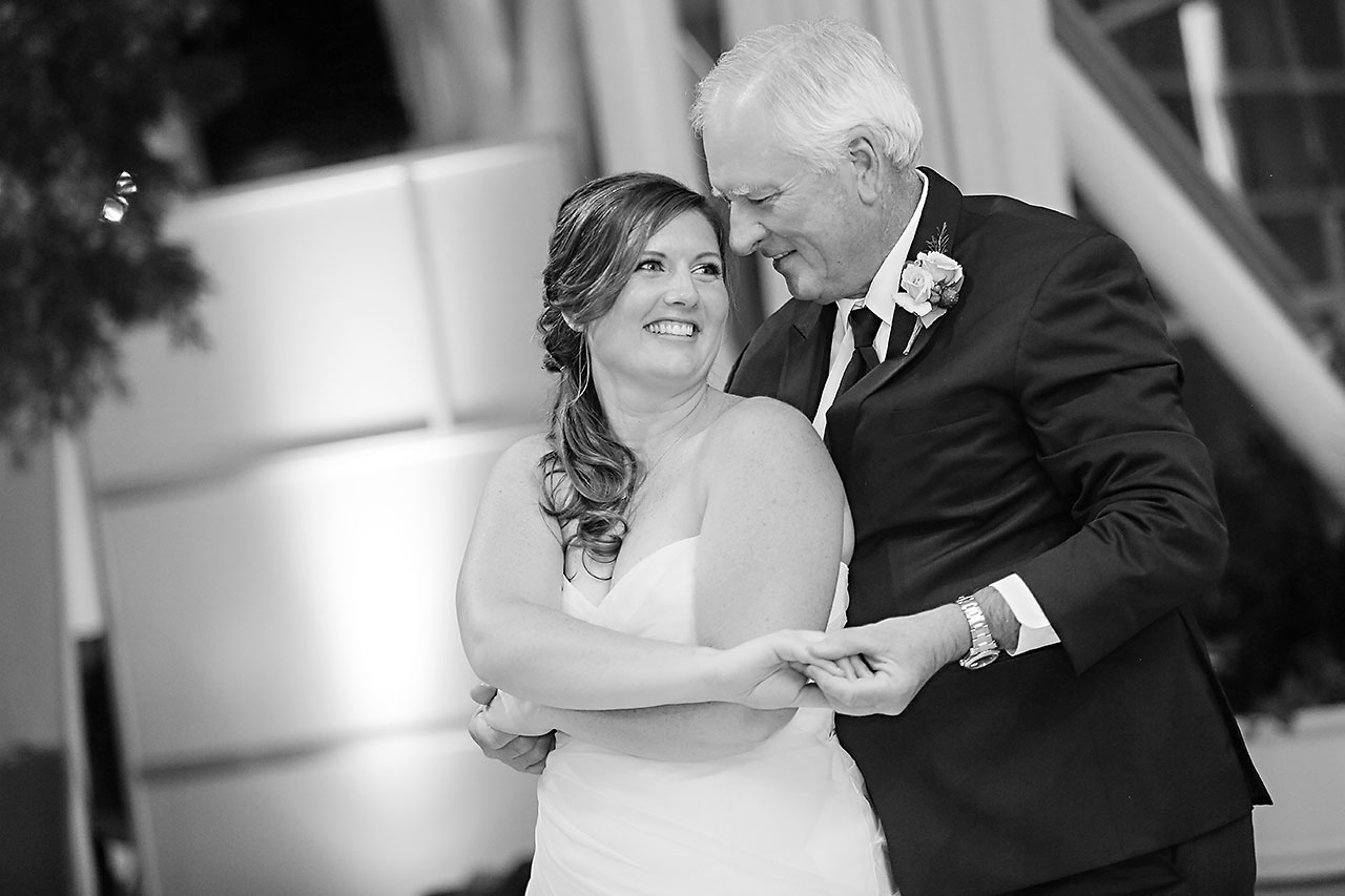 Erin John Artsgarden Indianapolis Wedding 328