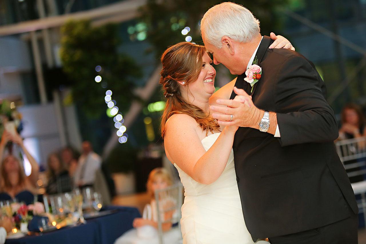 Erin John Artsgarden Indianapolis Wedding 327