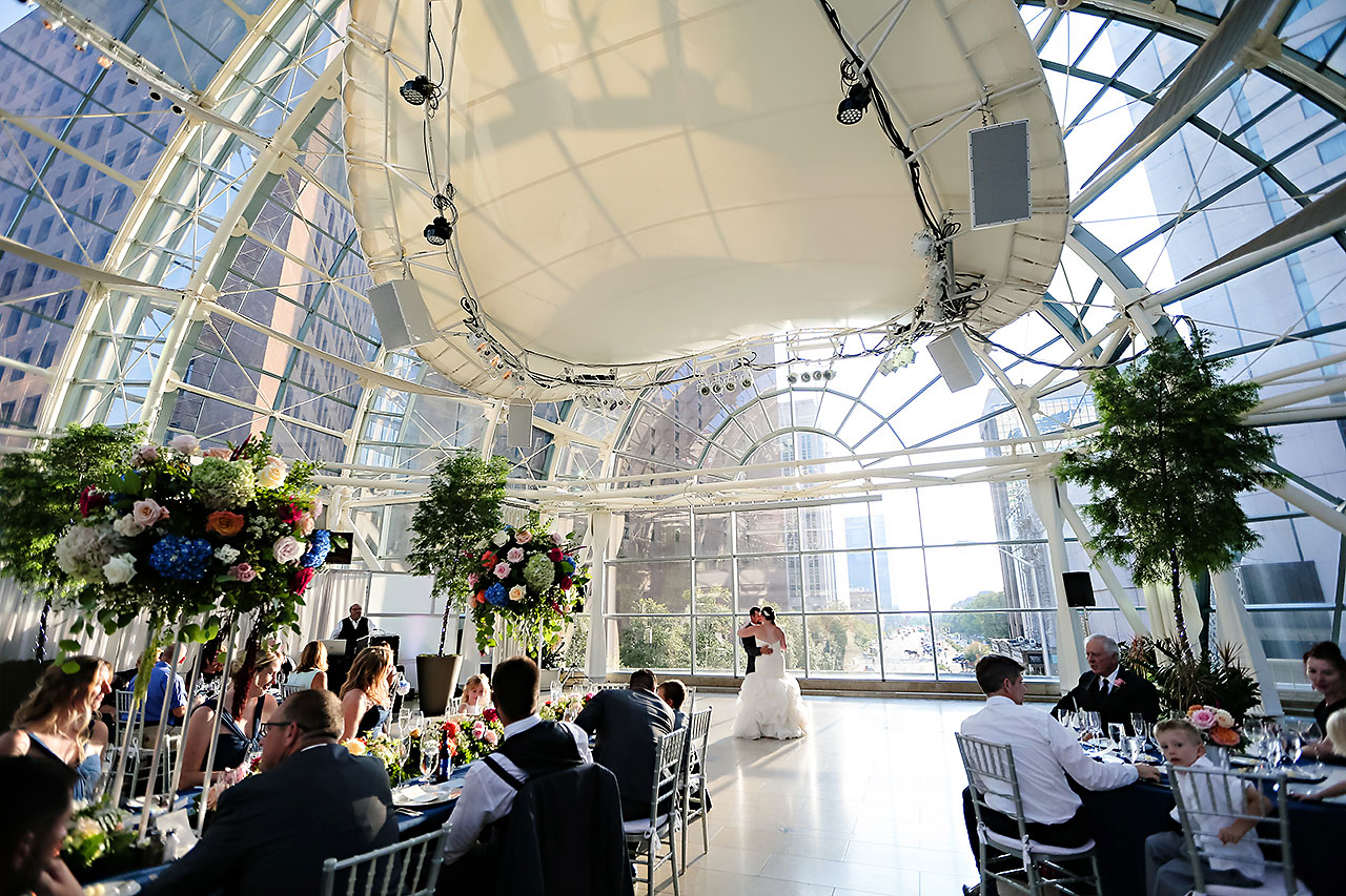 Erin John Artsgarden Indianapolis Wedding 293
