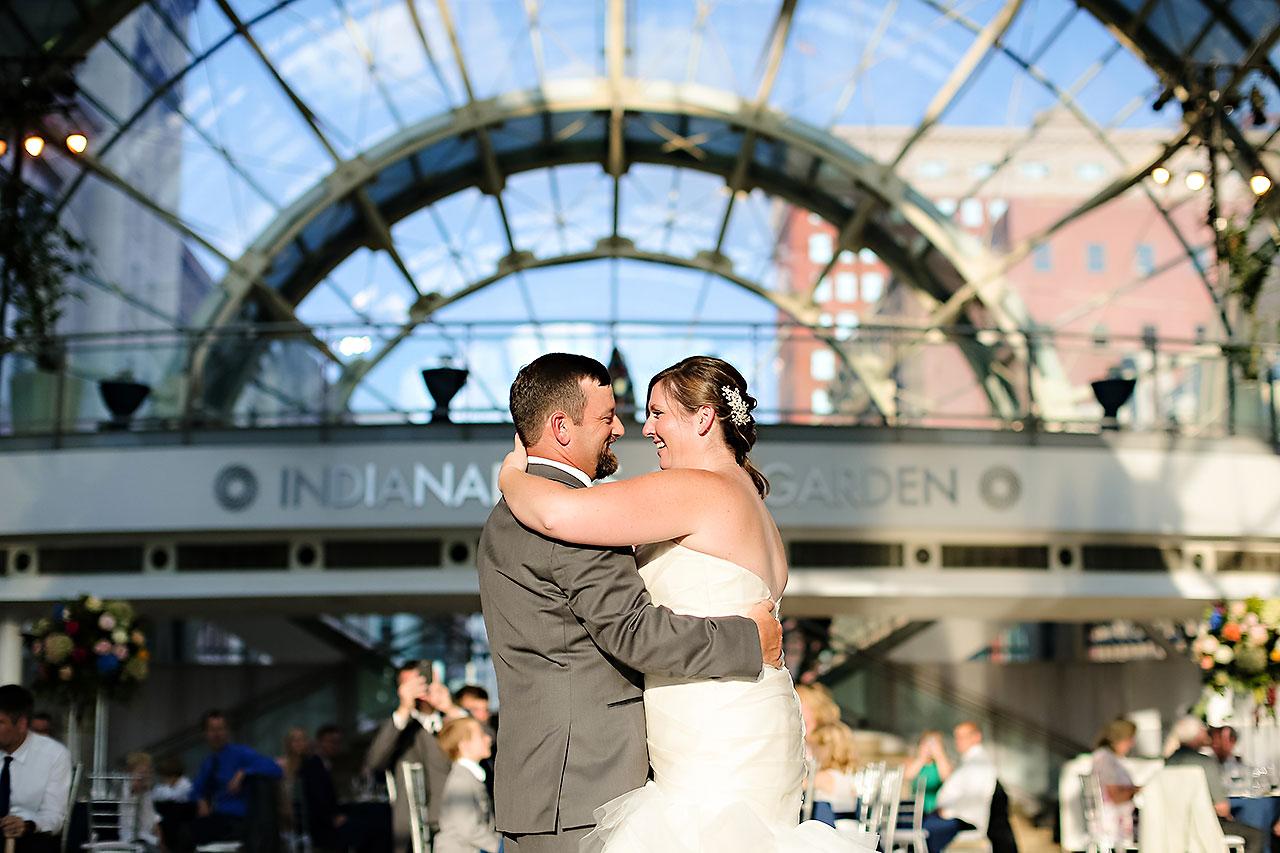 Erin John Artsgarden Indianapolis Wedding 289