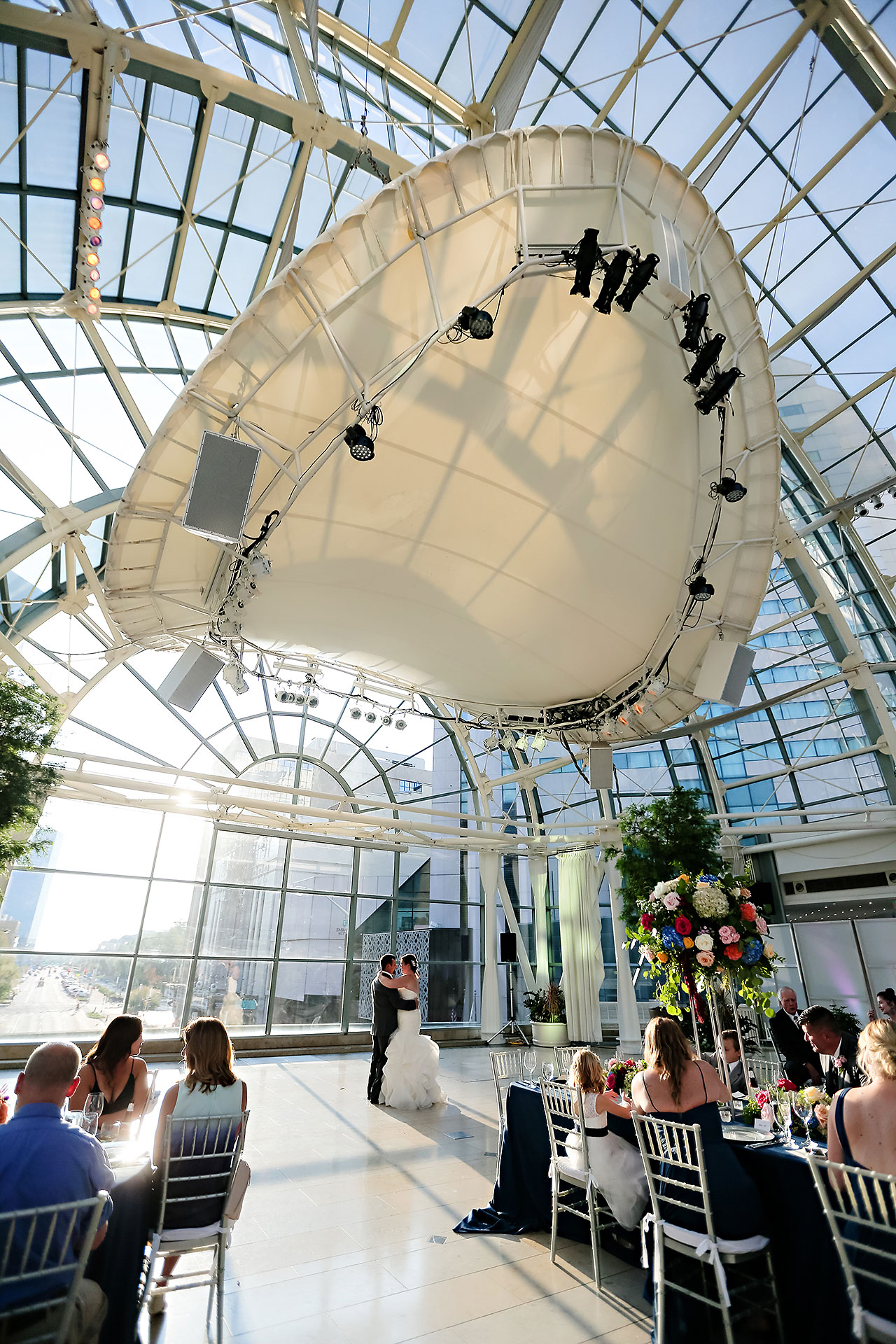 Erin John Artsgarden Indianapolis Wedding 291
