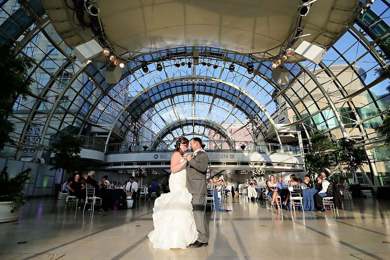 Erin John Artsgarden Indianapolis Wedding 286