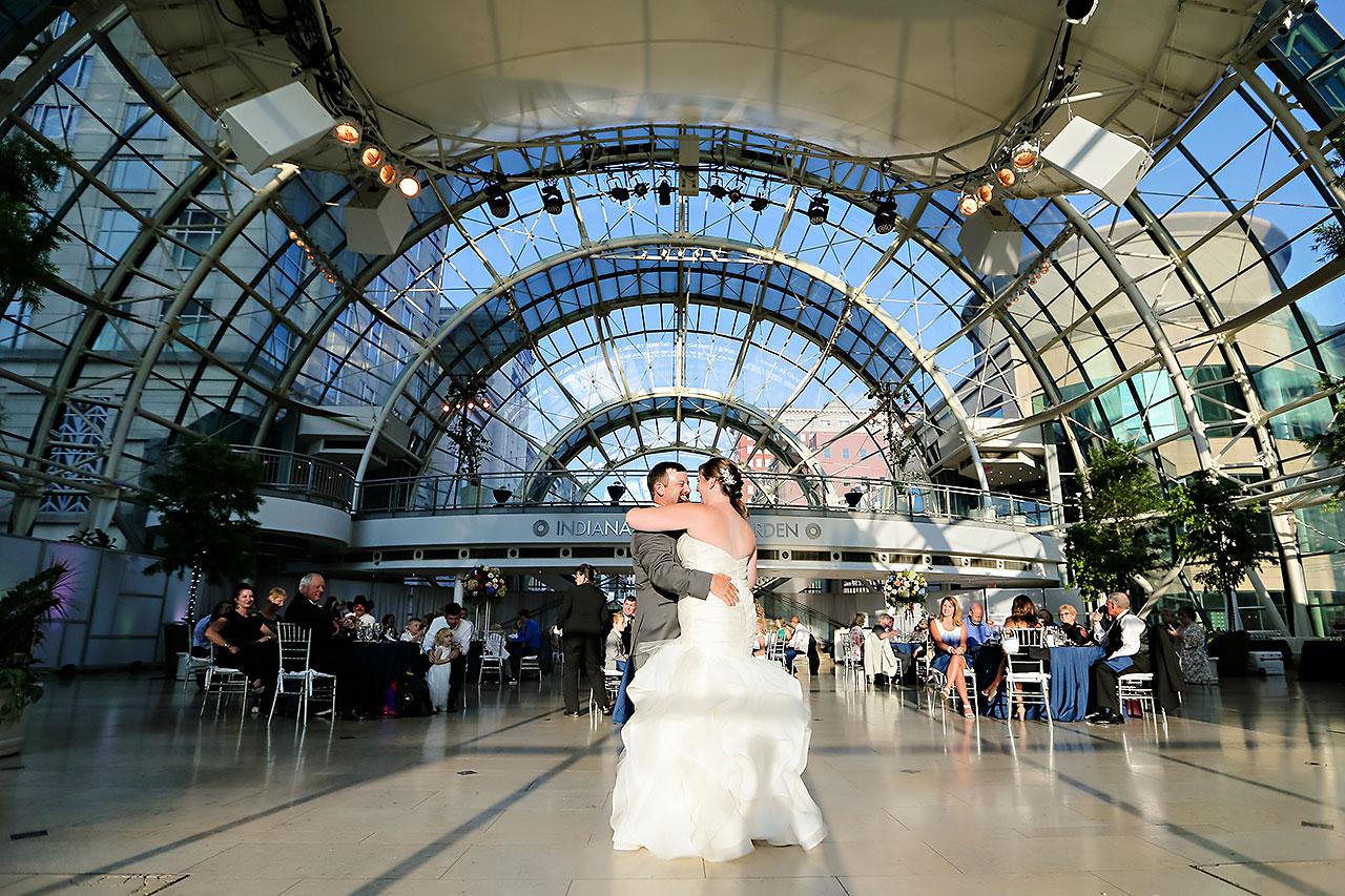 Erin John Artsgarden Indianapolis Wedding 283