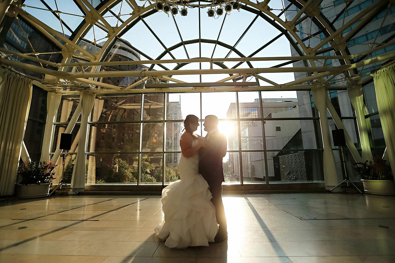 Erin John Artsgarden Indianapolis Wedding 284