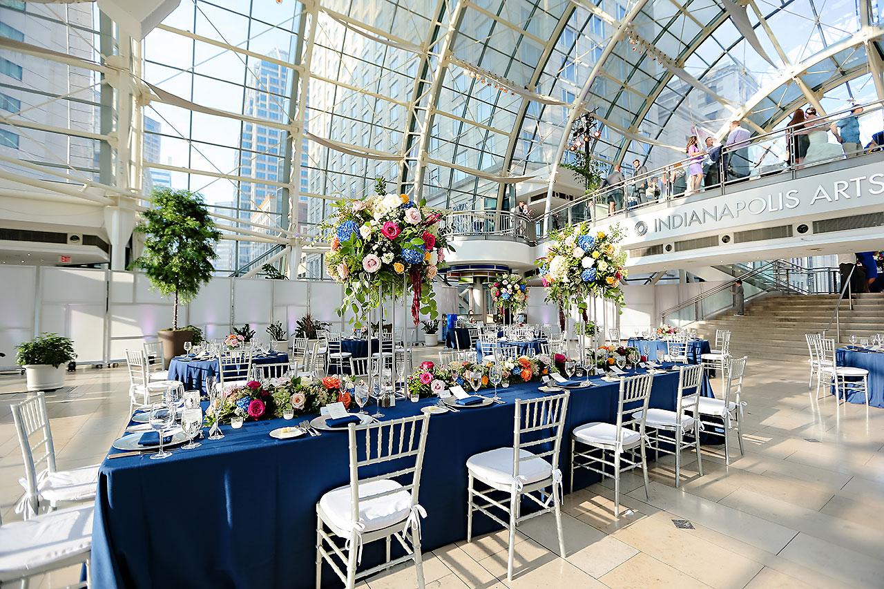 Erin John Artsgarden Indianapolis Wedding 259