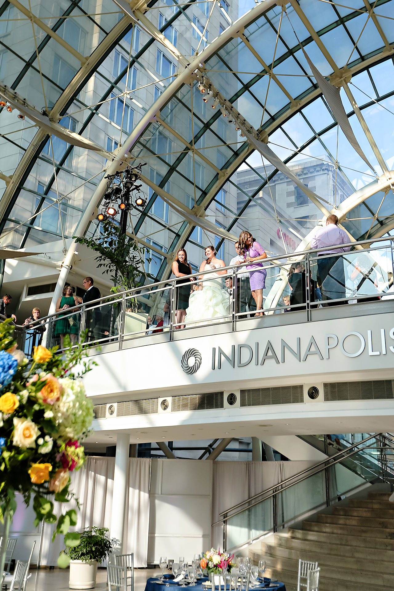 Erin John Artsgarden Indianapolis Wedding 244