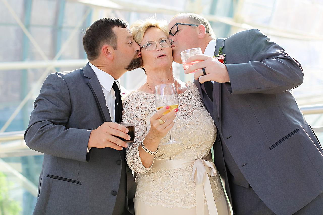 Erin John Artsgarden Indianapolis Wedding 241