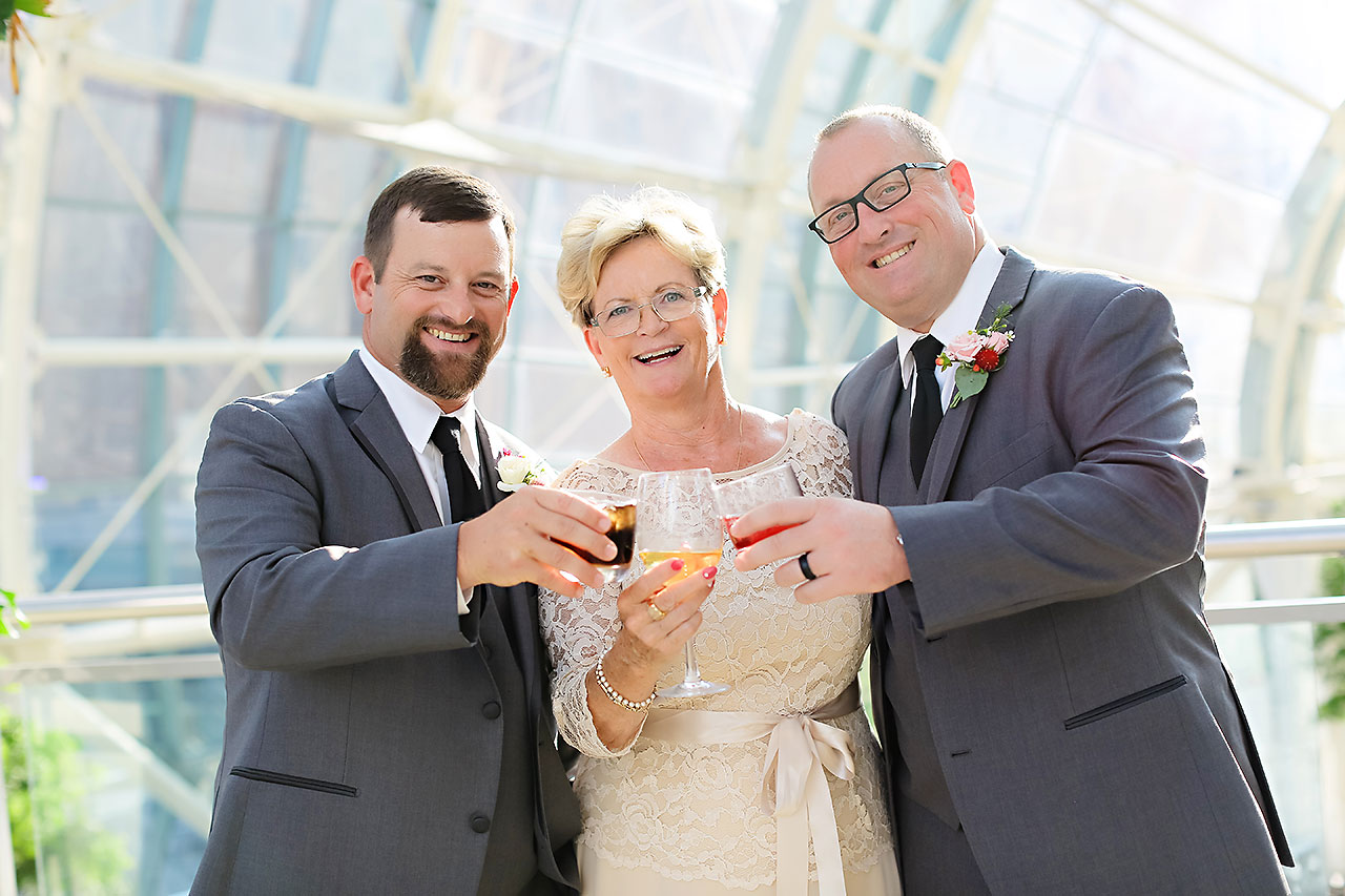 Erin John Artsgarden Indianapolis Wedding 235