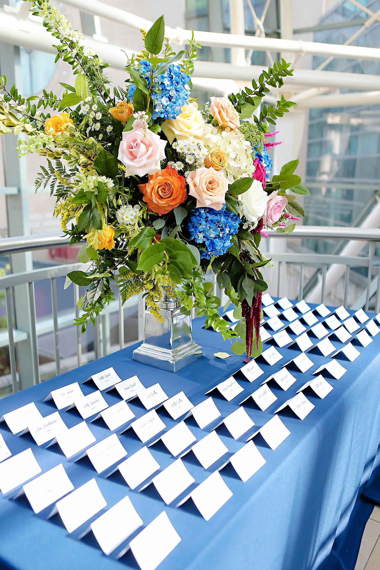 Erin John Artsgarden Indianapolis Wedding 228