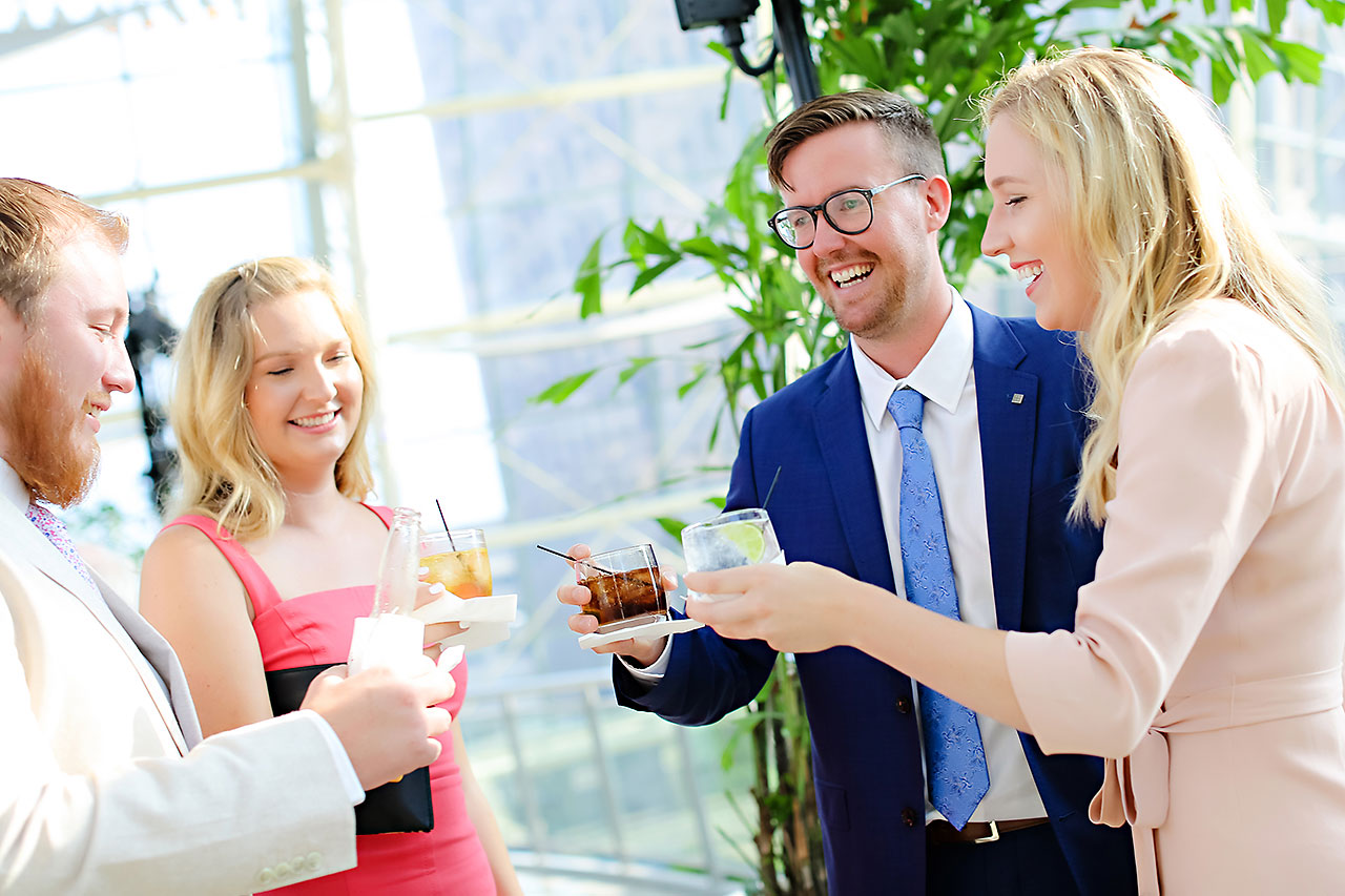 Erin John Artsgarden Indianapolis Wedding 226