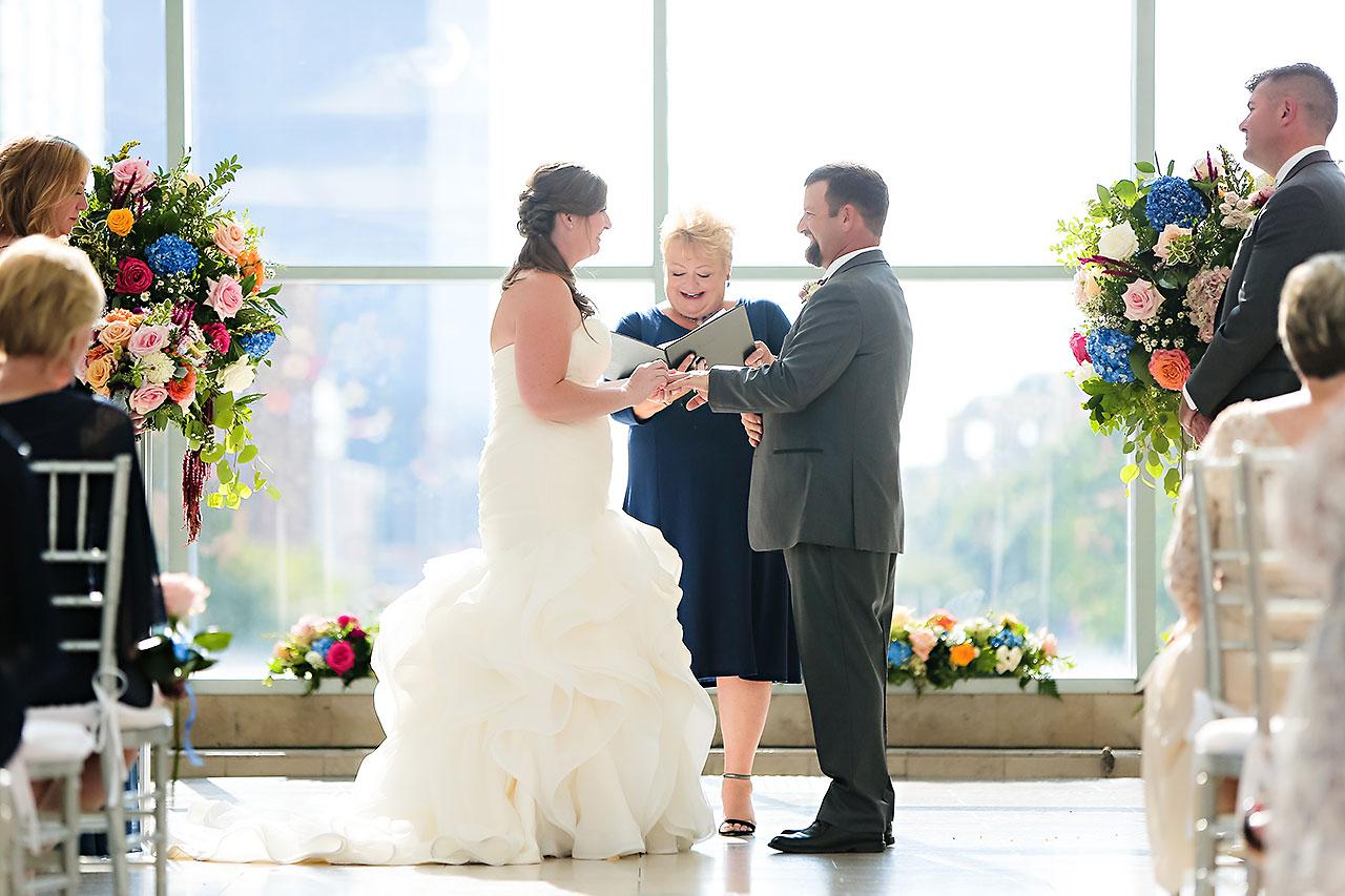 Erin John Artsgarden Indianapolis Wedding 212