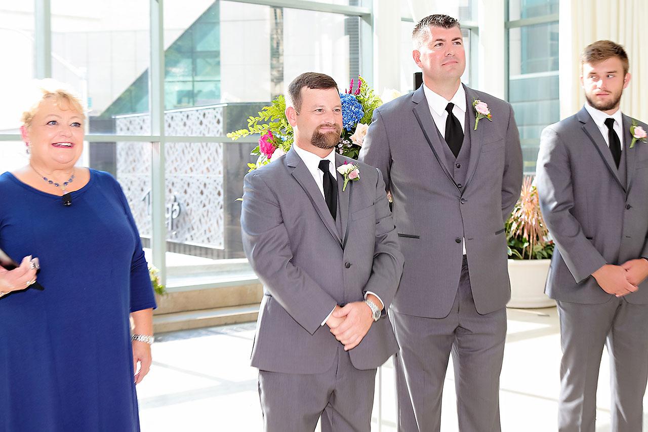 Erin John Artsgarden Indianapolis Wedding 205
