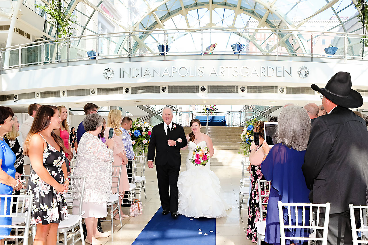 Erin John Artsgarden Indianapolis Wedding 203