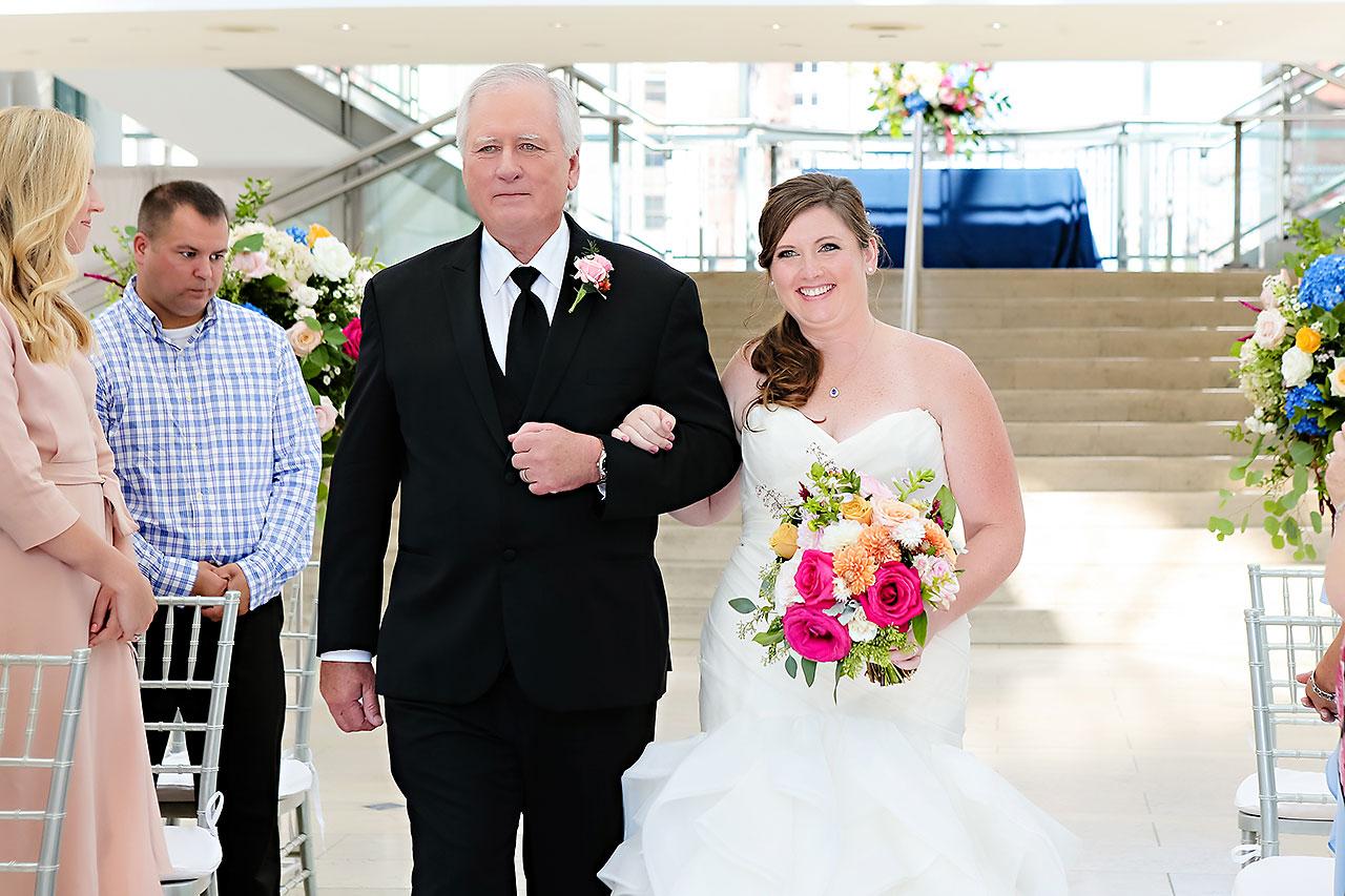 Erin John Artsgarden Indianapolis Wedding 204