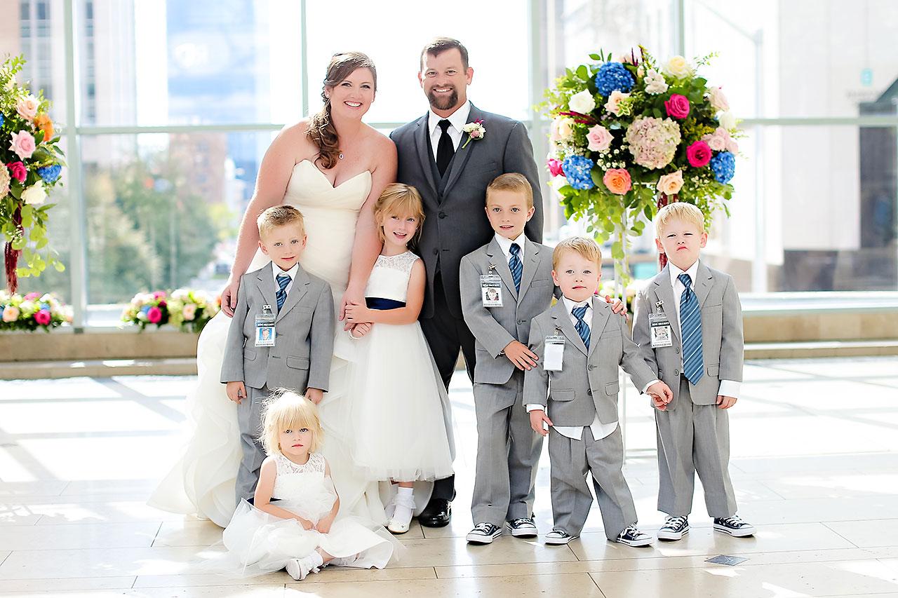 Erin John Artsgarden Indianapolis Wedding 187
