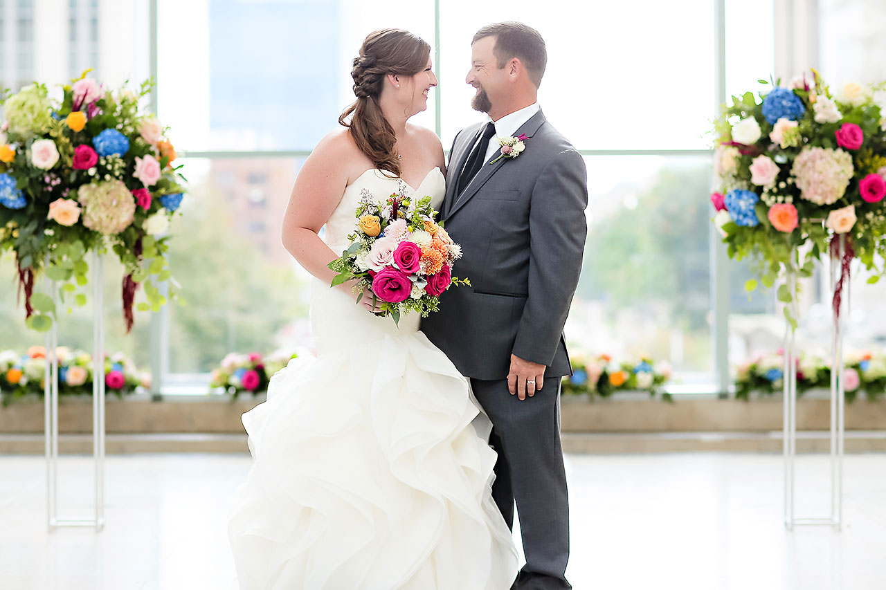 Erin John Artsgarden Indianapolis Wedding 188