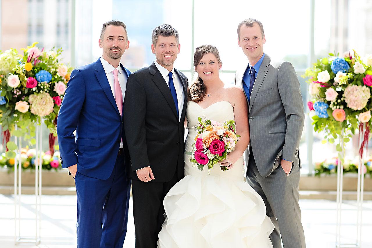 Erin John Artsgarden Indianapolis Wedding 184