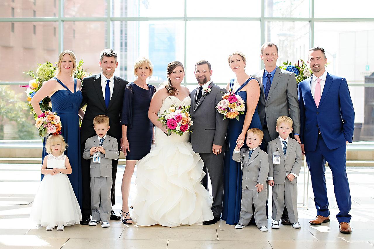 Erin John Artsgarden Indianapolis Wedding 182