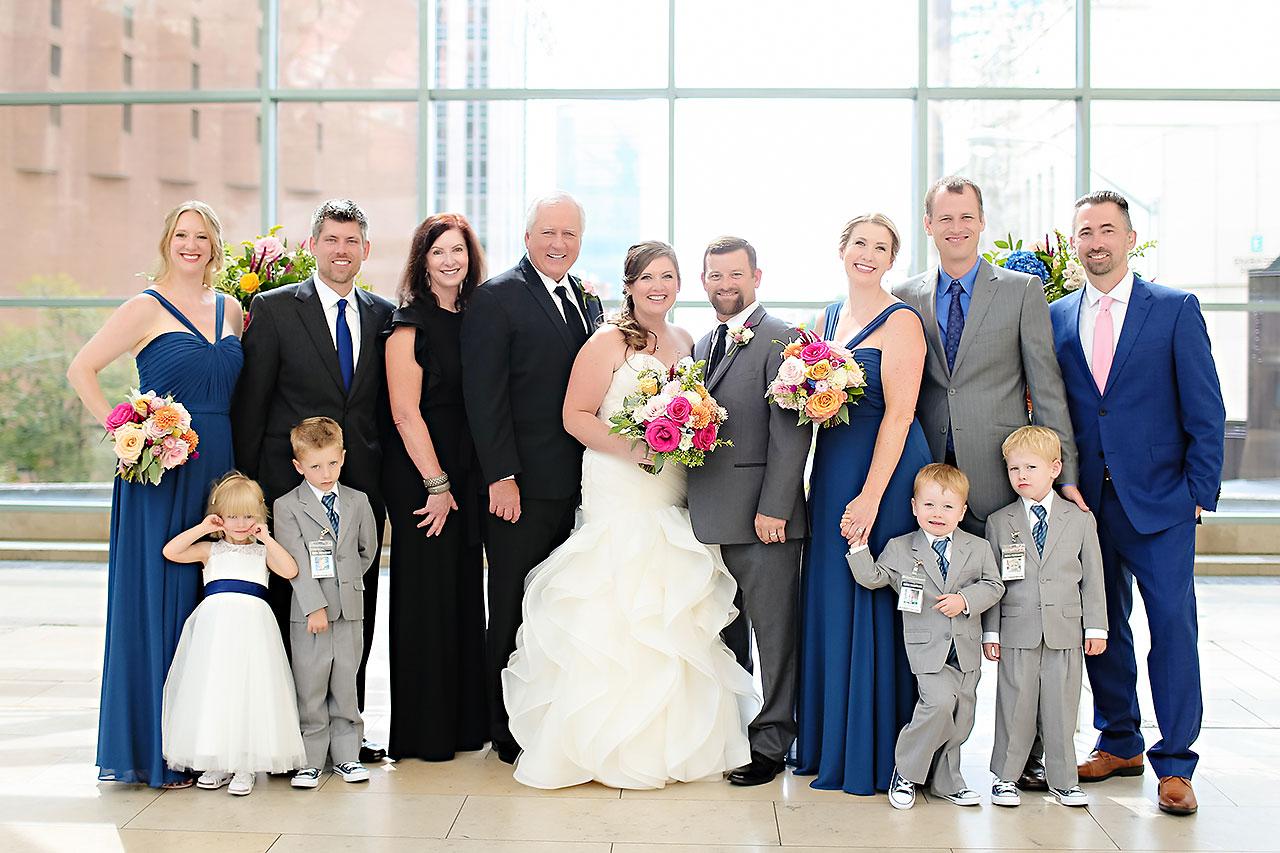 Erin John Artsgarden Indianapolis Wedding 183